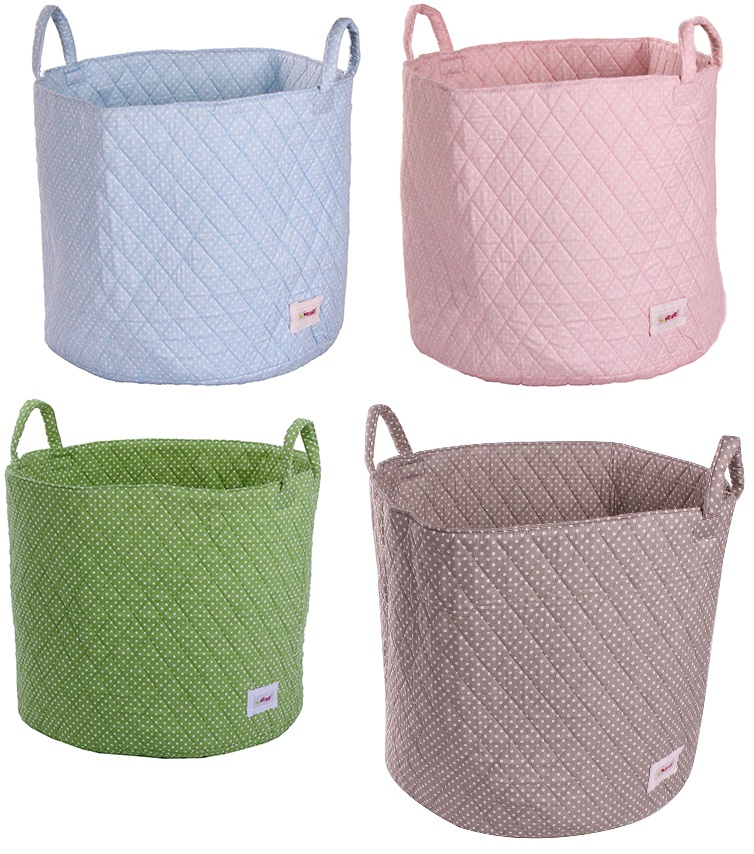 Minene fabric storage bags for toys and laundry